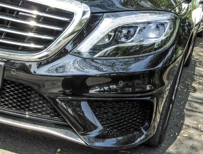 Mercedes S63 gia gan 9 ty dong o Sai Gon hinh anh 3