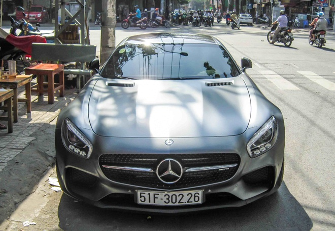 Mercedes GT S Edition 1 tai xuat o Sai Gon hinh anh 1
