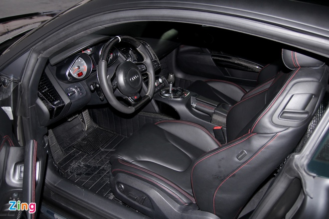 Chi tiet sieu xe Audi R8 do carbon hang doc o Sai Gon hinh anh 10