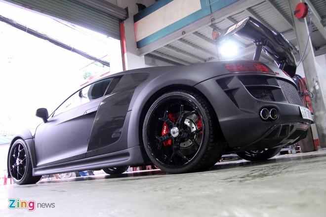 Chi tiet sieu xe Audi R8 do carbon hang doc o Sai Gon hinh anh 3