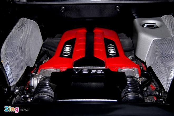 Chi tiet sieu xe Audi R8 do carbon hang doc o Sai Gon hinh anh 5