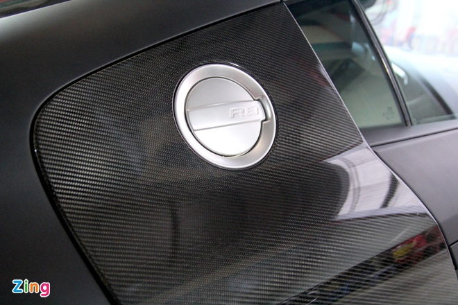 Chi tiet sieu xe Audi R8 do carbon hang doc o Sai Gon hinh anh 6