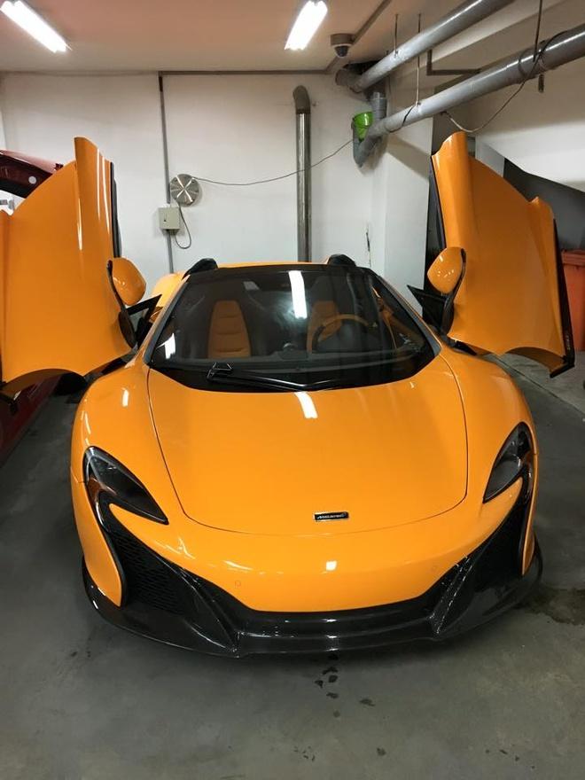 Sieu xe McLaren 650S Spider dau tien ve Viet Nam hinh anh 1