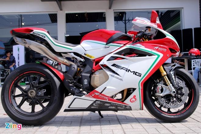 Sieu moto MV Agusta F4 RC doc nhat tai Viet Nam hinh anh 1