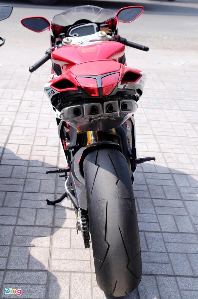 Sieu moto MV Agusta F4 RC doc nhat tai Viet Nam hinh anh 4