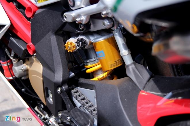 Sieu moto MV Agusta F4 RC doc nhat tai Viet Nam hinh anh 8