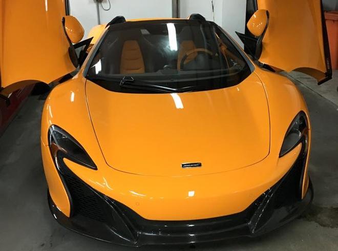 Sieu xe McLaren 650S Spider dau tien ve Viet Nam hinh anh