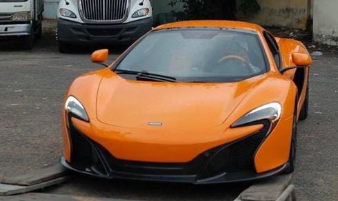 Nghe thu tieng po sieu xe McLaren 650S Spider dau tien VN hinh anh