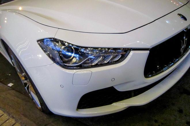 Xe sang Maserati Ghibli dau tien tai TP HCM hinh anh 4