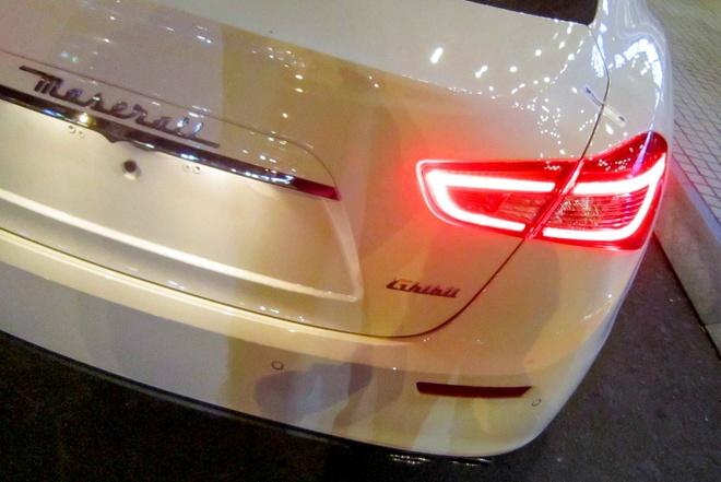 Xe sang Maserati Ghibli dau tien tai TP HCM hinh anh 6