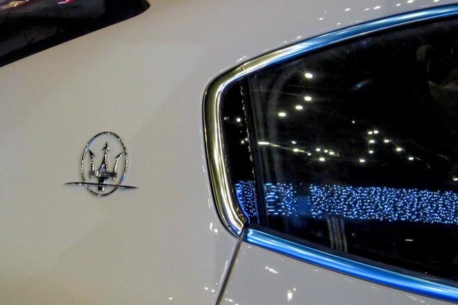 Xe sang Maserati Ghibli dau tien tai TP HCM hinh anh 7