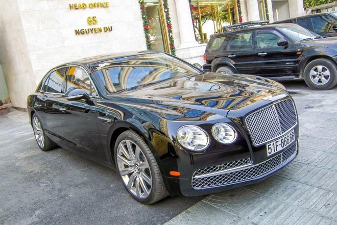 Xe sieu sang Bentley Flying Spur W12 gia 13 ty o Sai Gon hinh anh