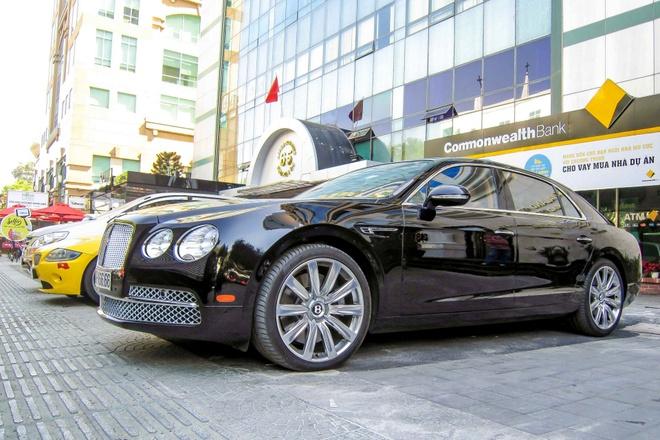 Xe sieu sang Bentley Flying Spur W12 gia 13 ty o Sai Gon hinh anh 2
