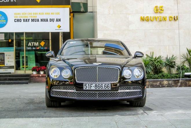 Xe sieu sang Bentley Flying Spur W12 gia 13 ty o Sai Gon hinh anh 4