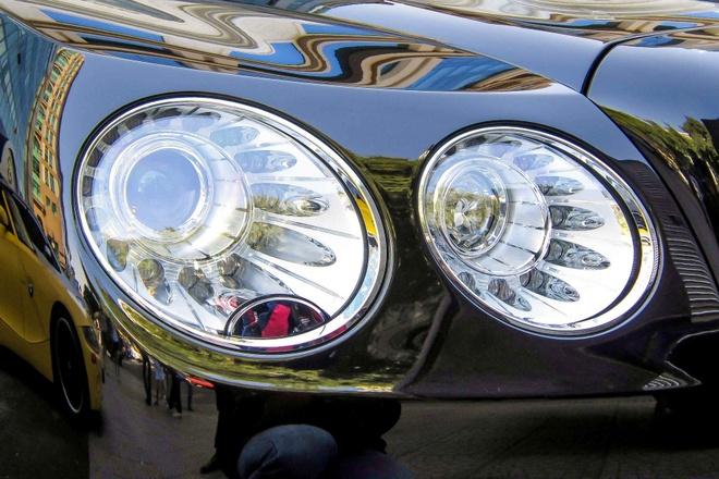 Xe sieu sang Bentley Flying Spur W12 gia 13 ty o Sai Gon hinh anh 5