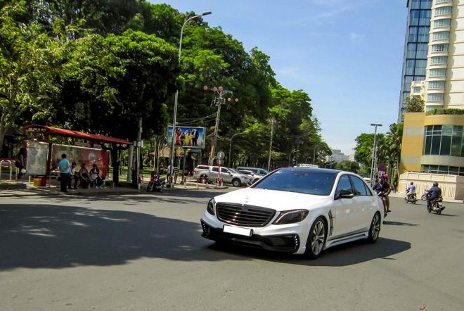 Xe sang Mercedes S500L do cua Cuong 'Dola' hinh anh 1