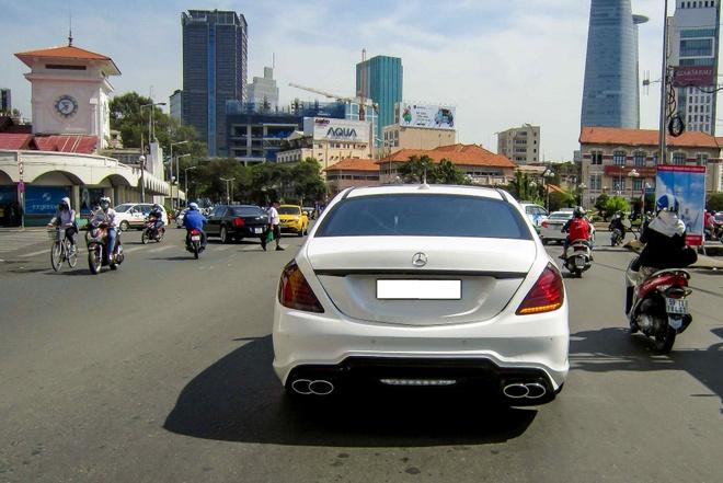 Xe sang Mercedes S500L do cua Cuong 'Dola' hinh anh 2