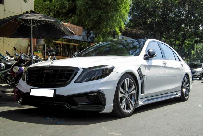 Xe sang Mercedes S500L do cua Cuong 'Dola' hinh anh 3