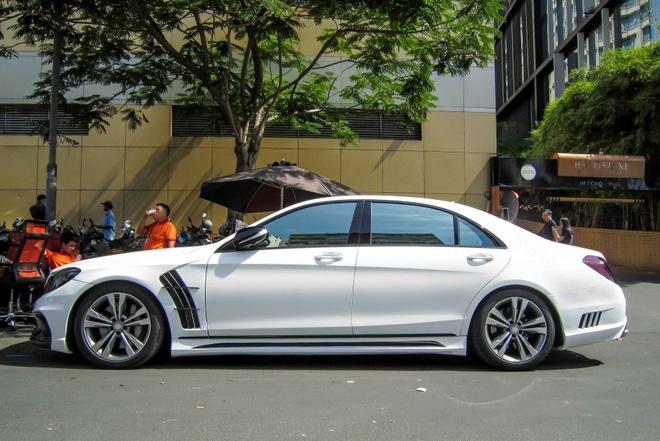 Xe sang Mercedes S500L do cua Cuong 'Dola' hinh anh