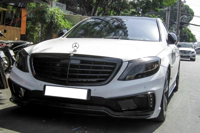 Xe sang Mercedes S500L do cua Cuong 'Dola' hinh anh 5