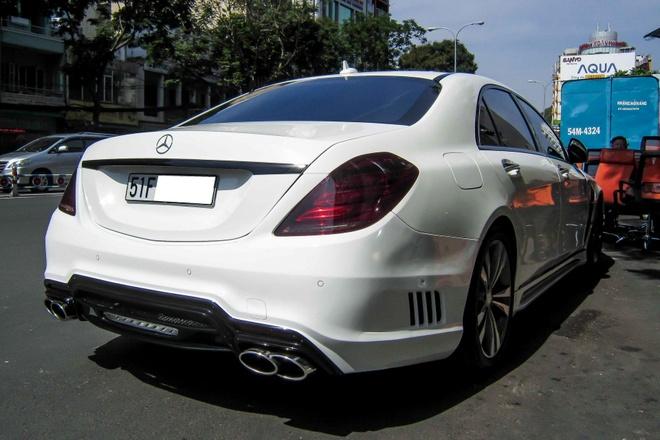 Xe sang Mercedes S500L do cua Cuong 'Dola' hinh anh 8
