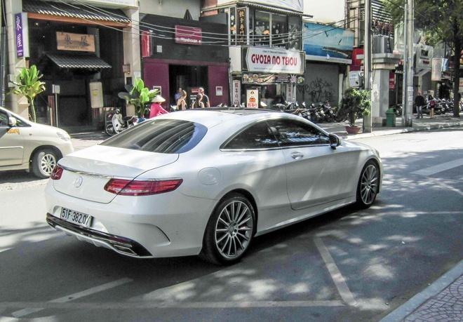 Mercedes S-Class Coupe gia tren 7 ty lan banh o Sai Gon hinh anh 2