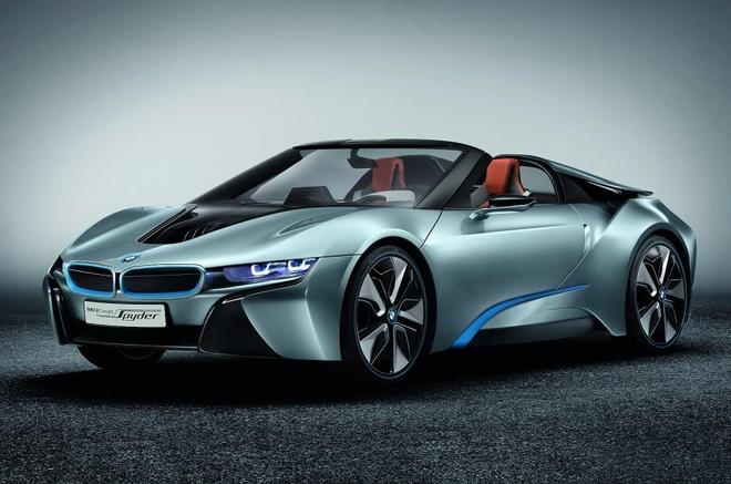 BMW i8 Spyder the he moi sap ra mat hinh anh 2