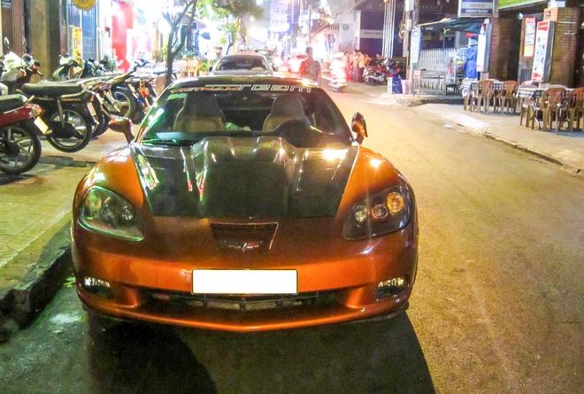 Xe the thao Corvette C6 do body kit doc dao o Sai Gon hinh anh 2