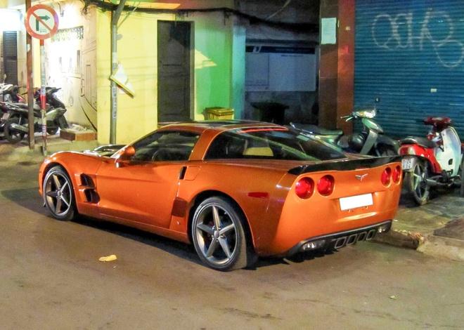 Xe the thao Corvette C6 do body kit doc dao o Sai Gon hinh anh 4
