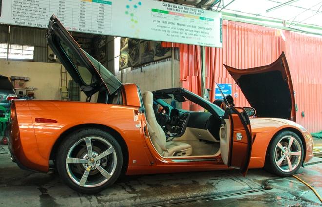 Xe the thao Corvette C6 do body kit doc dao o Sai Gon hinh anh 5