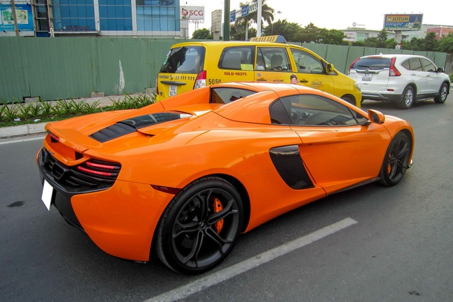 Nghe thu tieng po McLaren 650S Spider o Sai Gon hinh anh