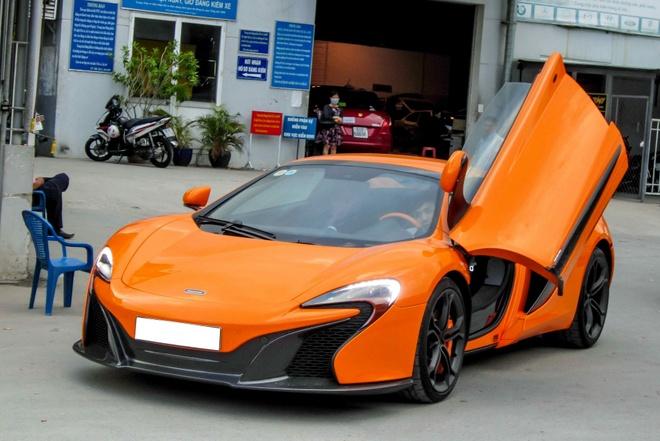 Chi tiet sieu xe McLaren 650S Spider doc nhat Viet Nam hinh anh