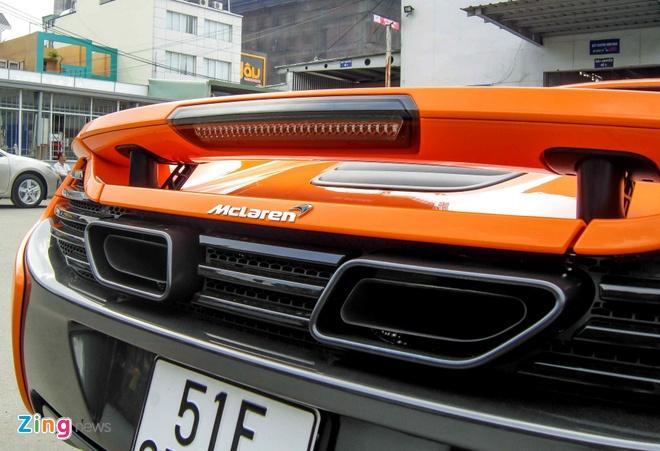 Chi tiet sieu xe McLaren 650S Spider doc nhat Viet Nam hinh anh 10