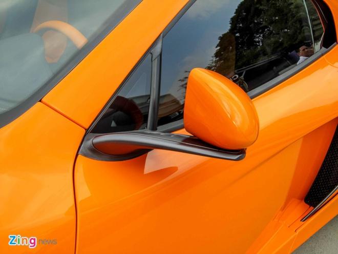 Chi tiet sieu xe McLaren 650S Spider doc nhat Viet Nam hinh anh 11