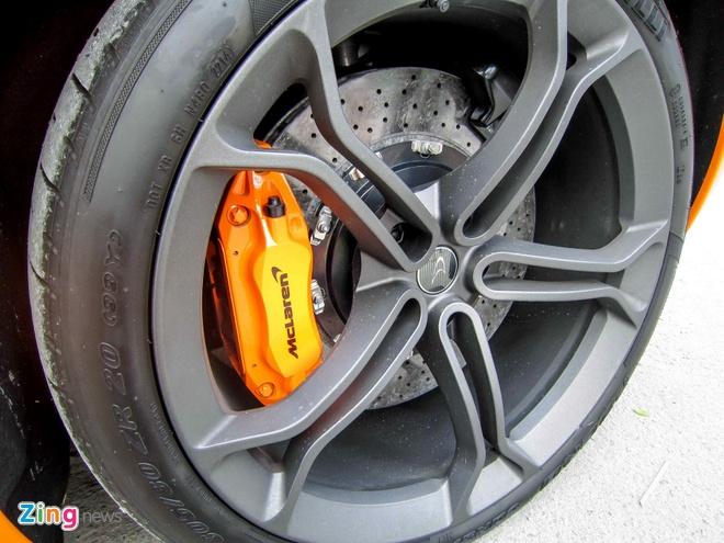 Chi tiet sieu xe McLaren 650S Spider doc nhat Viet Nam hinh anh 12