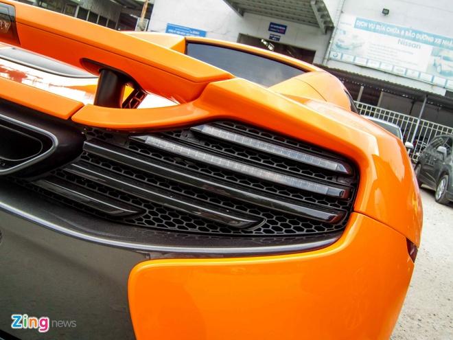 Chi tiet sieu xe McLaren 650S Spider doc nhat Viet Nam hinh anh 13