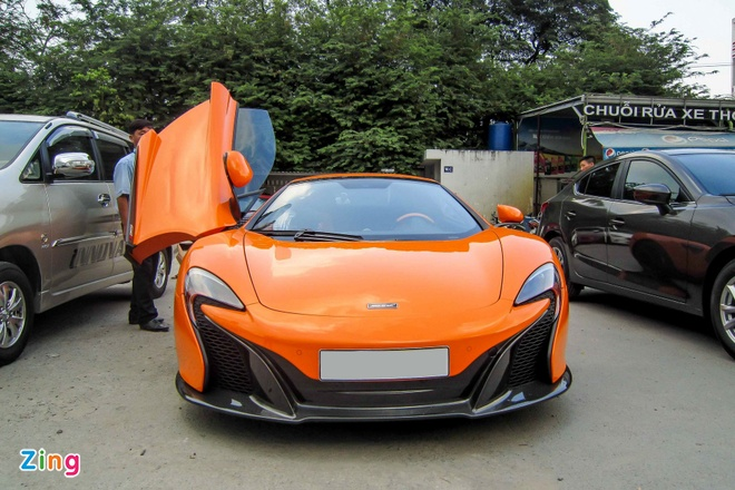Chi tiet sieu xe McLaren 650S Spider doc nhat Viet Nam hinh anh 2