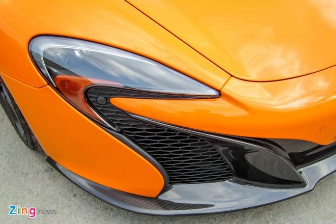 Chi tiet sieu xe McLaren 650S Spider doc nhat Viet Nam hinh anh 7