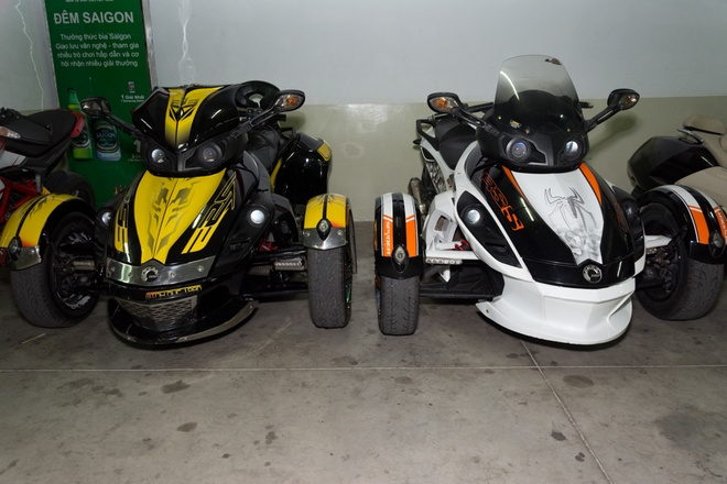 Ham xe voi dan moto khung o Sai Gon hinh anh 6