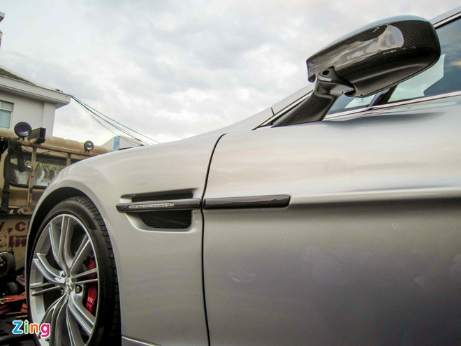 Chi tiet Aston Martin Vanquish hang doc tai Sai Gon hinh anh 9