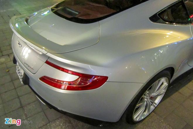 Chi tiet Aston Martin Vanquish hang doc tai Sai Gon hinh anh 10