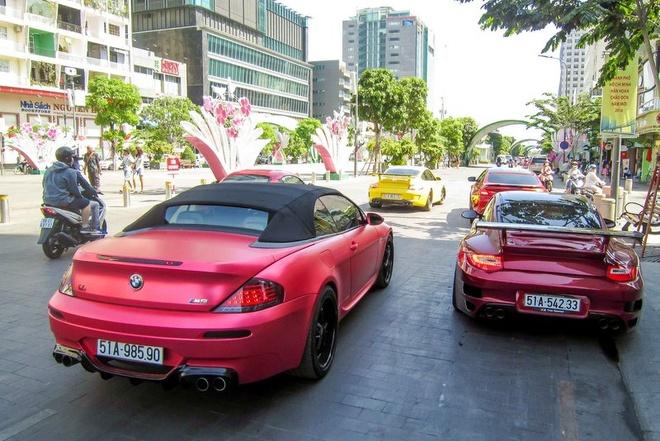 Sieu xe Porsche 911 do Techart mau do o Sai Gon hinh anh 5