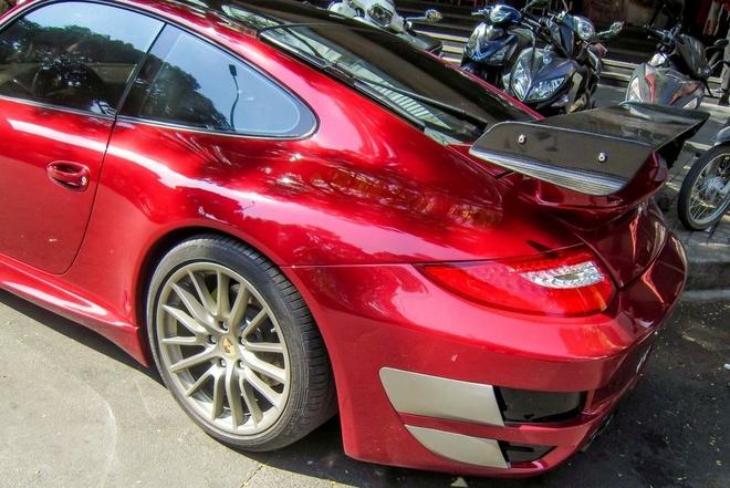 Sieu xe Porsche 911 do Techart mau do o Sai Gon hinh anh 6