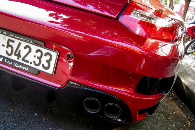 Sieu xe Porsche 911 do Techart mau do o Sai Gon hinh anh 7