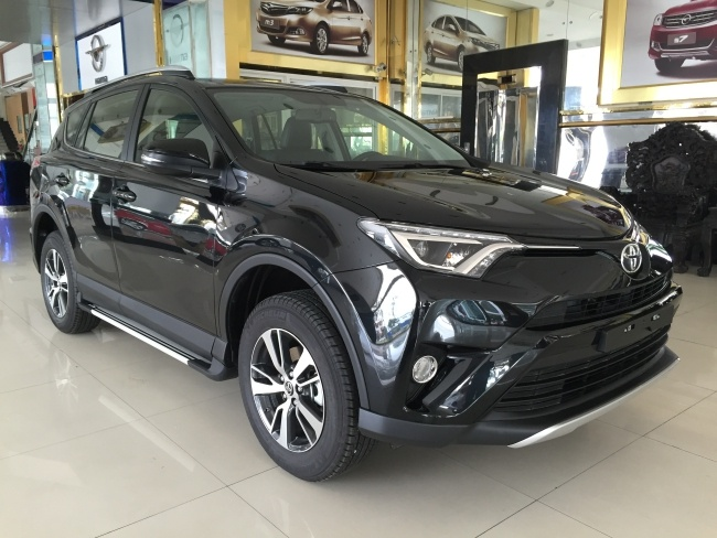 Toyota RAV4 2016 da ve Viet Nam, gia gan 1,8 ty dong hinh anh