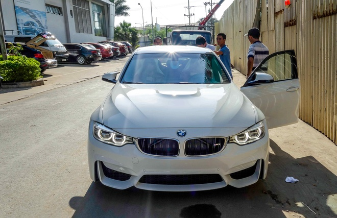 BMW M3 the he moi ve Viet Nam hinh anh 1