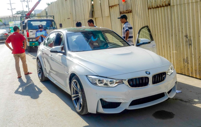 BMW M3 the he moi ve Viet Nam hinh anh 3