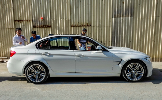BMW M3 the he moi ve Viet Nam hinh anh 5