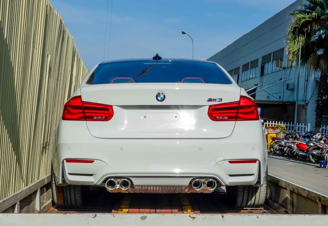 BMW M3 the he moi ve Viet Nam hinh anh 6
