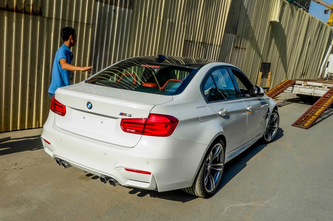 BMW M3 the he moi ve Viet Nam hinh anh 8